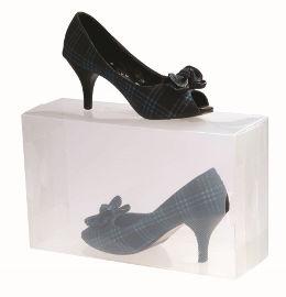הום סט סט 10 קופסאות שקופות לנעליים