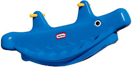 little tikes נדנדת לוויתן כחולה