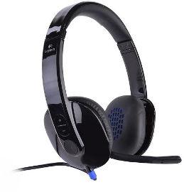 LOGITECH אוזניות חוטיות Logitech H540