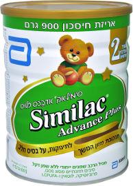 סימילאק אדבנס פלוס תרכובת מזון לתינוקות שלב 2