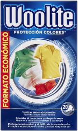 וולייט דפים למניעת העברת צבע למכונת כביסה
