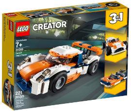 לגו מירוץ מכוניות 3 ב 1.  31089 LEGO