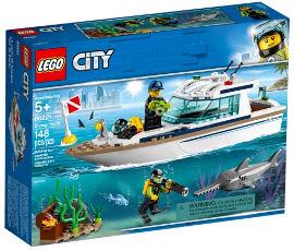 לגו צלילה במעמקי הים 60221