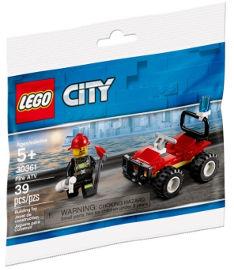 לגו טרקטורון כיבוי אש 30361 LEGO