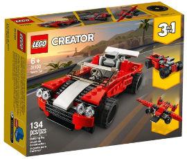 לגו LEGO CREATOR רכב ספורט 3ב-1 31100