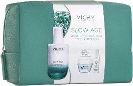 VICHY מארז סלואו אייג'- תיק איפור בצבע ירוק