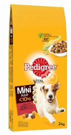 PEDIGREE מזון לכלבים מגזע קטן בקר
