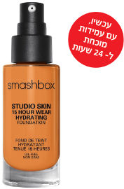 smashbox STUDIO SKIN 24 HOUR WEAR FOUNDATION מייק אפ עמיד עד 24 שעות 4.0