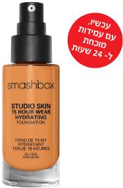 smashbox STUDIO SKIN 24 HOUR WEAR FOUNDATION מייק אפ עמיד עד 24 שעות 3.35