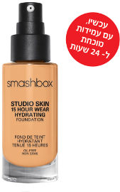 smashbox STUDIO SKIN 24 HOUR WEAR FOUNDATION מייק אפ עמיד עד 24 שעות 2.35