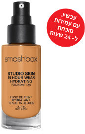 smashbox STUDIO SKIN 24 HOUR WEAR FOUNDATION מייק אפ עמיד עד 24 שעות 3.18
