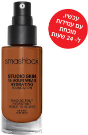 smashbox STUDIO SKIN 24 HOUR WEAR FOUNDATION מייק אפ עמיד עד 24 שעות 4.25