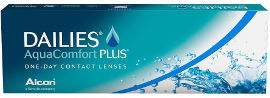 DAILIES AquaComfort plus מספר 01.00-