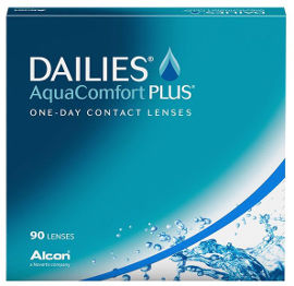 DAILIES AquaComfort plus מספר 03.75-