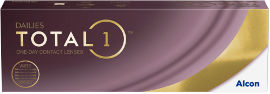 DAILIES TOTAL 1 עדשות מגע יומיות 01.00-