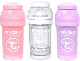 "TWISTSHAKE מארז בקבוקי 180 מ""ל בנות"