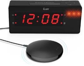 ILUV שעון מעורר כרית רטט