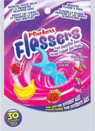 פלקרס פלוסר חוט דנטלי עם ידית לשימוש רב פעמי לילדים