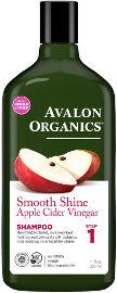 אבלון אורגניקס שמפו חומץ תפוחים
