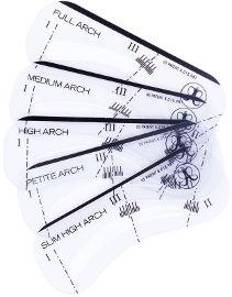 ANASTASIA BEVERLY HILLS שבלונות לעיצוב הגבות - STENCILS