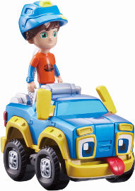 רום וראמבל מכונית מתכת ראמבל עם דמות