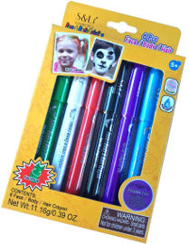 s&li מארז עפרונות איפור לפנים לגוף ולשיער
