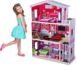 באלי טוי בית בובות מעץ טופז