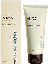 AHAVA מינרלי קרם רגליים