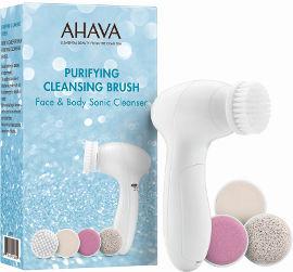 AHAVA PURIFYING מברשת חשמלית לניקוי הפנים והגוף