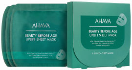 AHAVA BEAUTY BEFORE AGE סט מסכות בד למיצוק וחיזוק העור