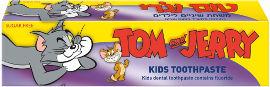 טום וג'רי משחת שיניים לילדים בטעם ענבים