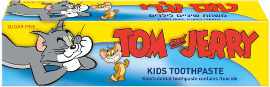 טום וג'רי משחת שיניים בטעם מסטיק