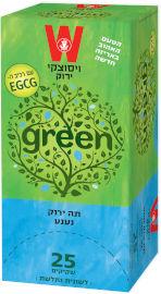 ויסוצקי תה ירוק נענע