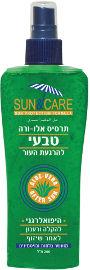 Sun & Care ג'ל אלוורה בספריי