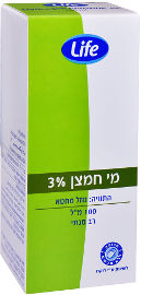 Life מי חמצן 3%