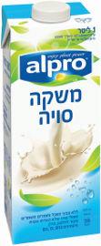 אלפרו חלב סויה סידן אוריגינל