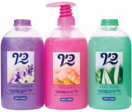 כיף צבעוני אל סבון קטיפתי