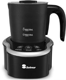 Selmor מקציף חלב נשלף להקצפה חמה או קרה או חימום מבית סלמור Selmor דגם 974