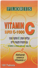 פלוריש ויטמין C-1000 לבליעה