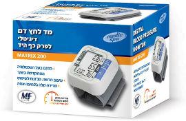 מדיק ספא מד לחץ דם לפרק כף היד