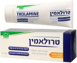 3OL טרולאמין תחליב לעור להקלה על כוויות וצריבות