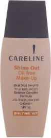 CARELINE SHINE OUT מייק אפ