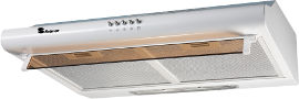Selmor קולט אדים מדף צמוד-קיר לבן דגם 6001