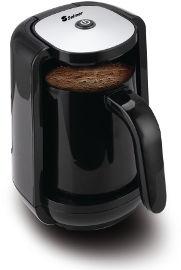 """Selmor מכשיר להכנת קפה טורקי """"הפינגאן החכם"""" דגם  91 שחור"""