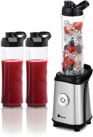 Selmor בלנדר TO GO נירוסטה כותש קרח שתי כוסות BPA FREE  350W דגם 640