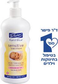 קמיל בלו סנסיטיב שיבולת שועל אל סבון טיפולי לתינוק