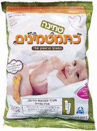 כתמטמינים חטיף אצבעות טחינה (50%) אורז ותירס, מגיל 6 חודשים