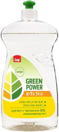 סנו GREEN POWER נוזל כלים אקולוגי