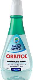 אורביטול BREATH CONTROL שטיפת פה עם הפעולה המשולשת