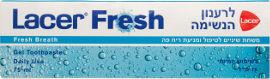 לאסר משחת שיניים לטיפול ומניעת ריח פה